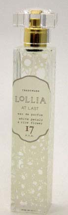 Lollia At Last Eau de Parfum - White Petals & Rice Flower-Magnolia-Mimosa