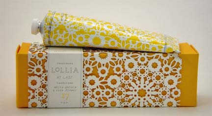 Lollia At Last Handcreme - White Petals & Rice Flower Magnolia-Mimosa