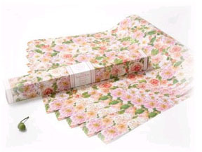 English Rose Drawer Liners by The Master Herbalist
