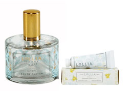 Lollia Wish Eau de Parfum with FREE Petite Handcreme Gift by designer Margot Elena
