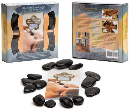 Mud Puddle Hot Stone Massage Book and Kit