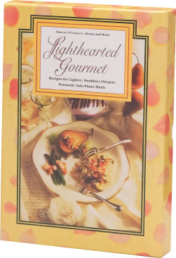 Menus & Music Lighthearted Gourmet Cookbook & CD Set by Sharon O'Connor