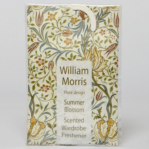 "The Master Herbalist William Morris ""Flora"" Design Summer Blossom Scented Wardrobe Freshener"