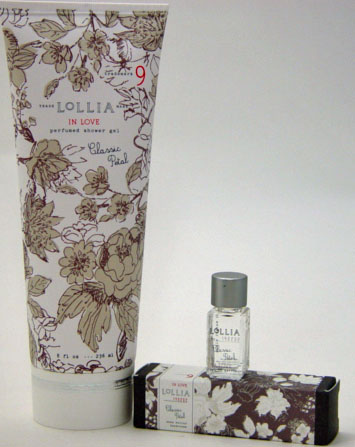 Lollia In Love Shower Gel with Petite Treat Handcreme & Little Luxe Eau de Parfum